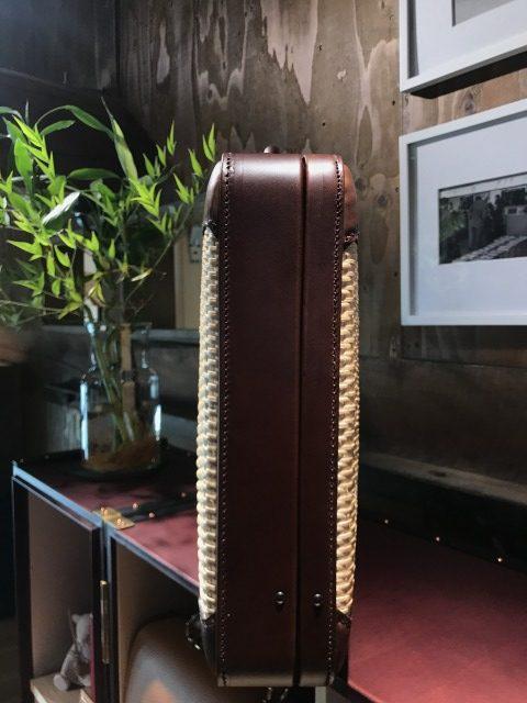 マスミ鞄嚢、豊岡鞄、城崎温泉、柳行李トランク、柳行李
